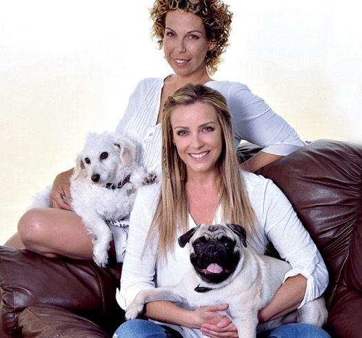 Francesca y Claudia Conserva: Hermanas animal lovers